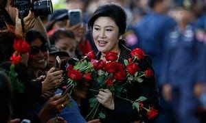 Former Thai prime minister Yingluck Shinawatra comes from a political dynasty hated by the military elite. Photograph: Rungroj Yongrit/EPA  A Thai court is seeking an arrest warrant for former prime minister Yingluck Shinawatra toppled by military generalswho took power in a 2014 coup after she failed to appear to hear the verdict in her long-running trial.  Thousands of supporters had massed outside the countrys supreme court on Friday morning to witness the outcome of the trial over…