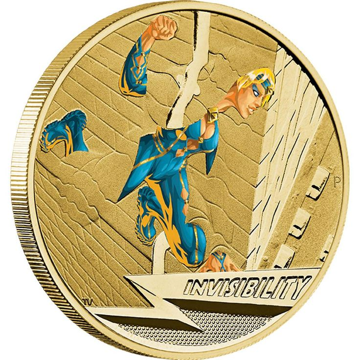 Young Collectors Super Powers Series – Invisibility 2014 $1 Coin in Card