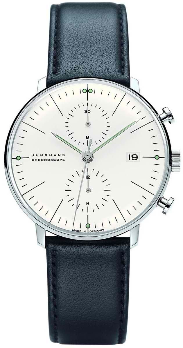 Max Bill Chronoscope Wrist Watch MB-4600 visit shopbalthazar.com