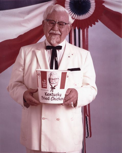 Today we celebrate fried chicken entrepreneur Colonel Sanders' 123rd birthday! Have you had the colonel's famous chicken? See his #familytree on Geni http://geni.com/T9sP5