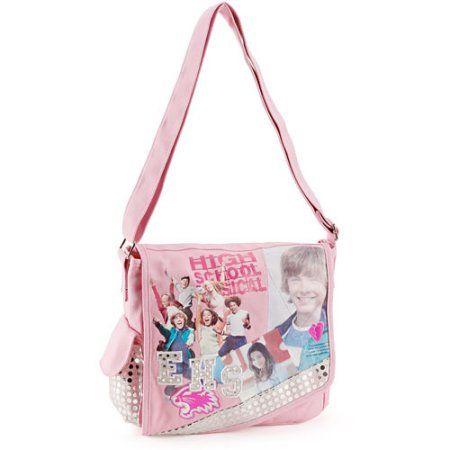 Disney - Disney High School Musical Messenger Bag, Pink