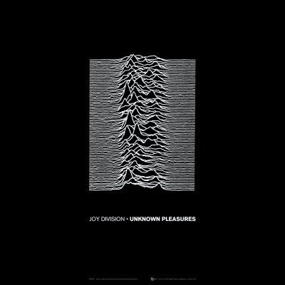 Factory Records Cover | 'Joy Division - Unknown Pleasures