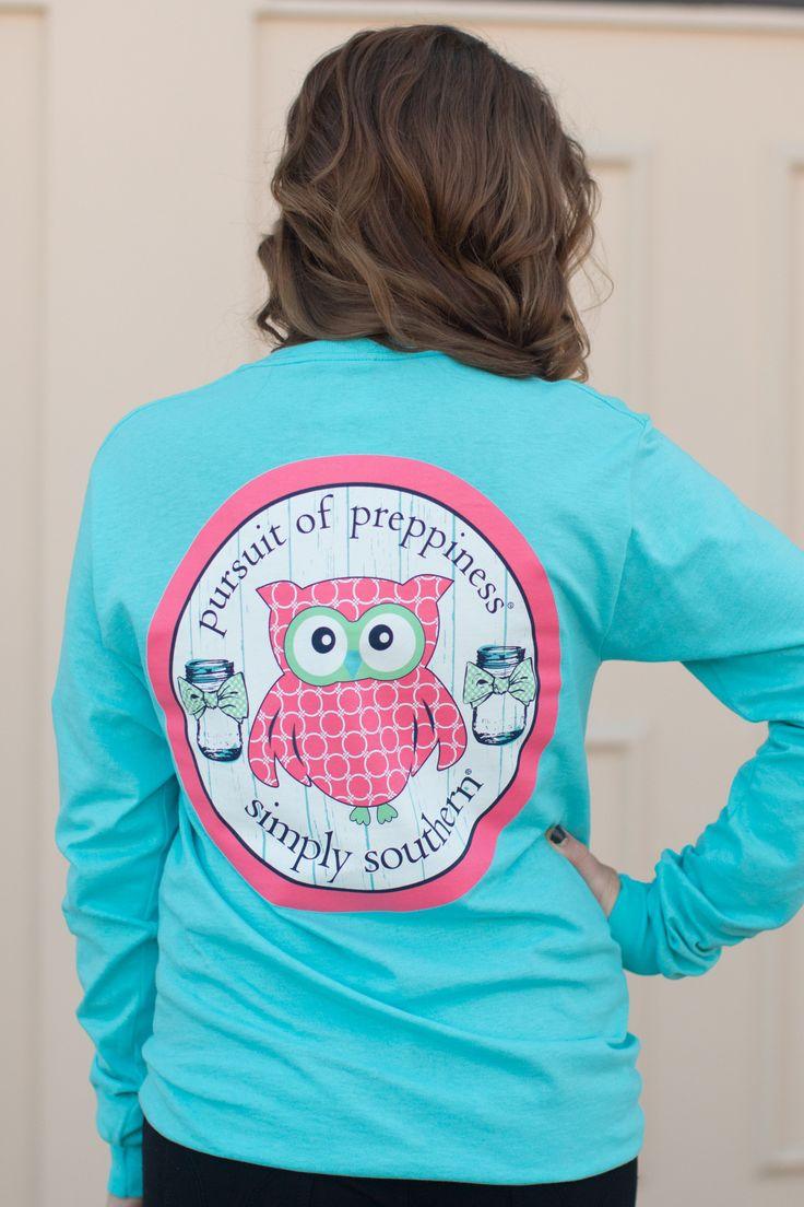Simply Southern Preppy Owl Shirt