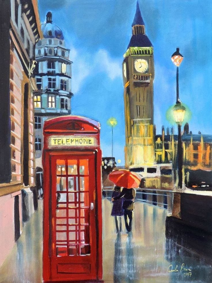 6d00084e8b599d1bf3b7996f68ed930f 12 best paintings of london images on pinterest double decker Big Ben Clock at soozxer.org