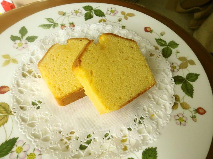 1000人超え大感謝✿ベーキングP無しなので本当にしっとりのパウンドケーキです。感動の口当たり♡卵はミキサー任せで楽々♪