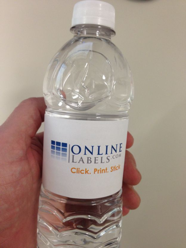 Make your own customized water bottle label.  Great for #weddings #parties #babyshowers #events