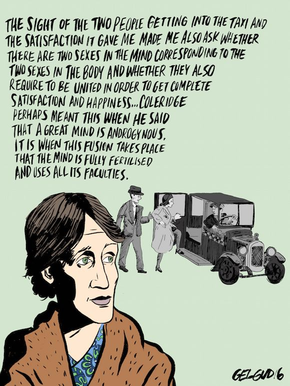 Virginia Woolf On Androgyny Creativity And A Room Of One S Own Own Quotes Historical Quotes Room Of One S Own