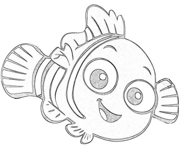 nemo coloring pages images google - photo#3