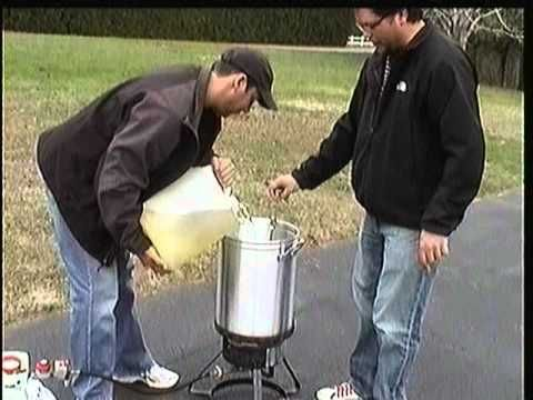 how to deep fry a turkey the proper way. Safety and prep tips included - YouTube