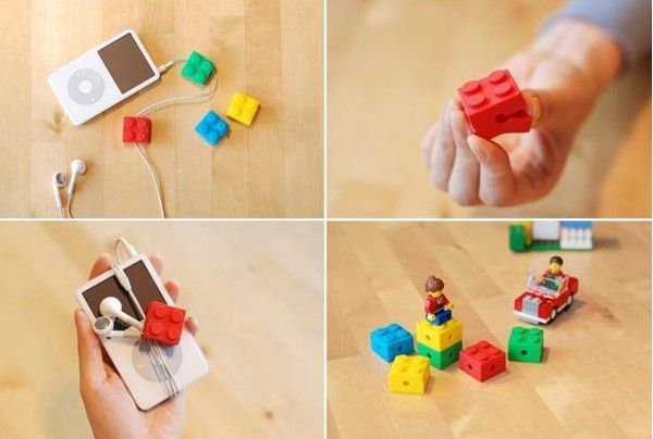 INFMETRY:: LEGO Style Earphone Winder - Tablet Accessories - Electronics