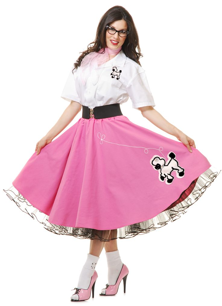 Nice Costumes Complete 50's Poodle Outfit Pink Costume just added...
