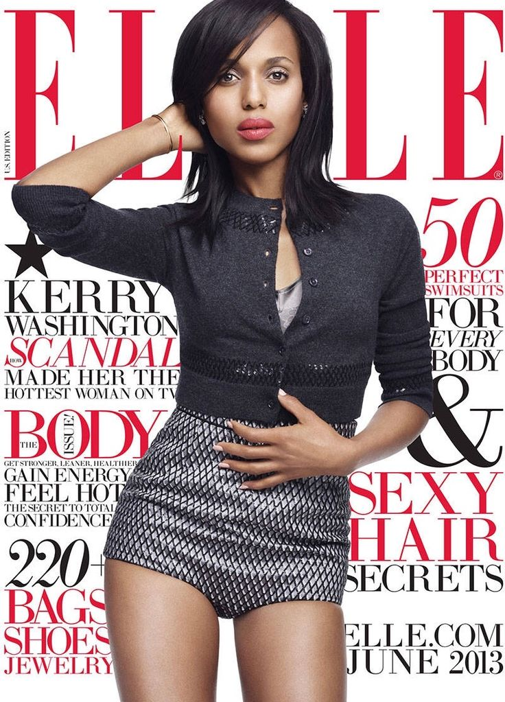 Kerry Washington - June 2013 US Cover