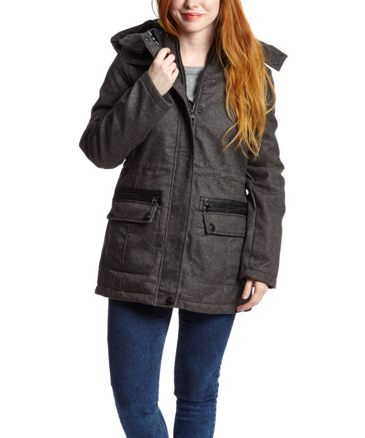 Point Zero Charcoal Soft Shell ThreeinOne Jacket