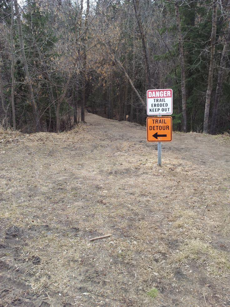 Městský park v podobě divokého Mill creek ravine je po zimě pěkně zdemolovaný. Všechno podemleté, propadané... Ale stejně je tam plno lidí a plno klidu.