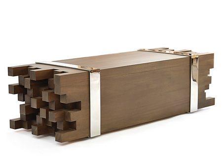 rotsen furniture single slab stainless steel. solid wood bench and stainless steel by rotsen furniture single slab a
