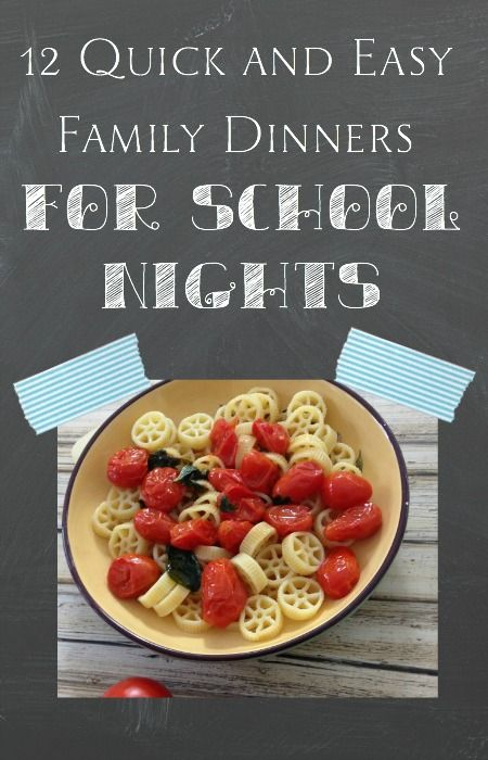 17 best images about eat dinner with your family on for Quick and easy dinner recipes for family
