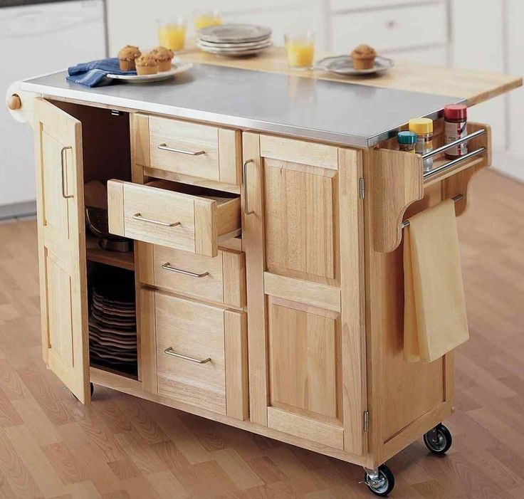 Kitchen Island Out Of Pallets: Best 25+ Portable Kitchen Cabinets Ideas On Pinterest