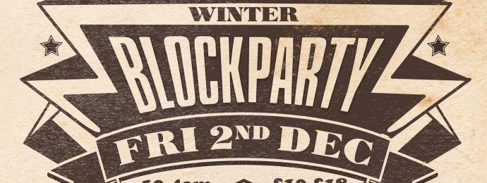 Friday 2nd December at The Old Crown Courts, Bristol BUY TICKETS HERE WINTER BLOCKPARTY We have decided we simply cannot wait until May 2017 to get everyone together again for the next party so we're taking over one of Bristol most exciting venues, the Old Crown Courts or one night only in early December. CourtroomContinue Reading →