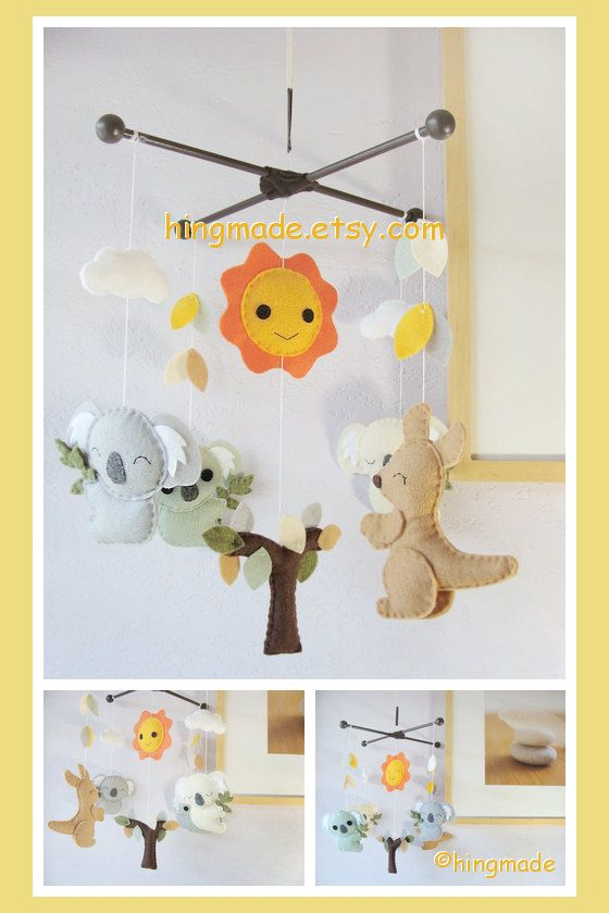 Baby mobiles create the perfect nursery decor by providing entertainment and soothing visuals, while also stimulating imagination. For your babyâ s nursery decor, consider gentle cranes, blooming flowers, wise owls, soaring airplanes, brilliantly colored automobiles, and more.