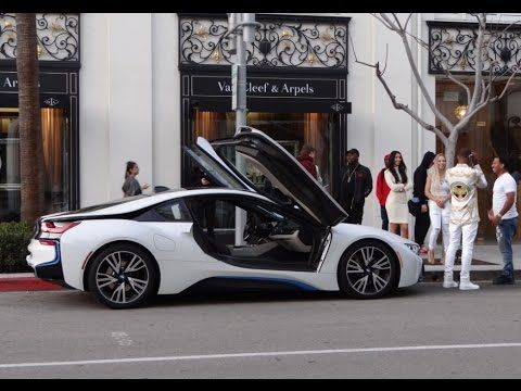 Expensive Exotic Cars of Beverly Hills