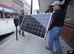 MORGANTOWN, W.Va. — A group devoted to creating alternative energy jobs in Central Appalachia is building a first for West Virginia's southern coalfields region this week – a set of rooftop solar panels, assembled by unemployed and underemployed coal miners and contractors.