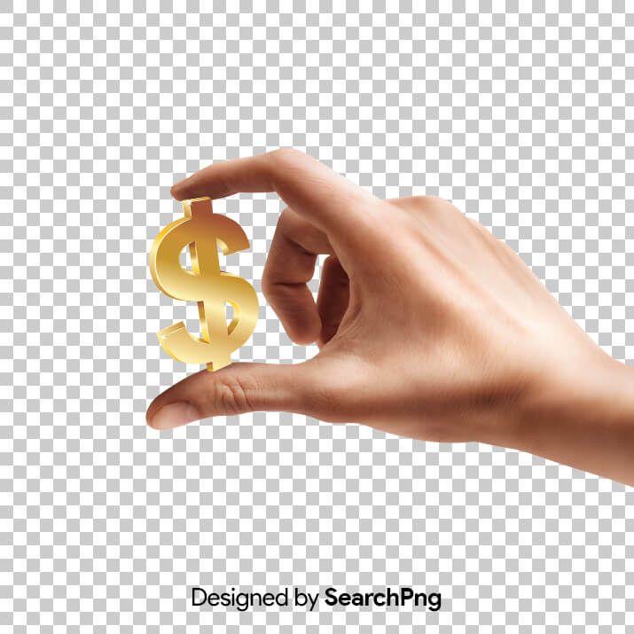 Hand Holding Dollar Symbol Png Image Png Images Symbols Png