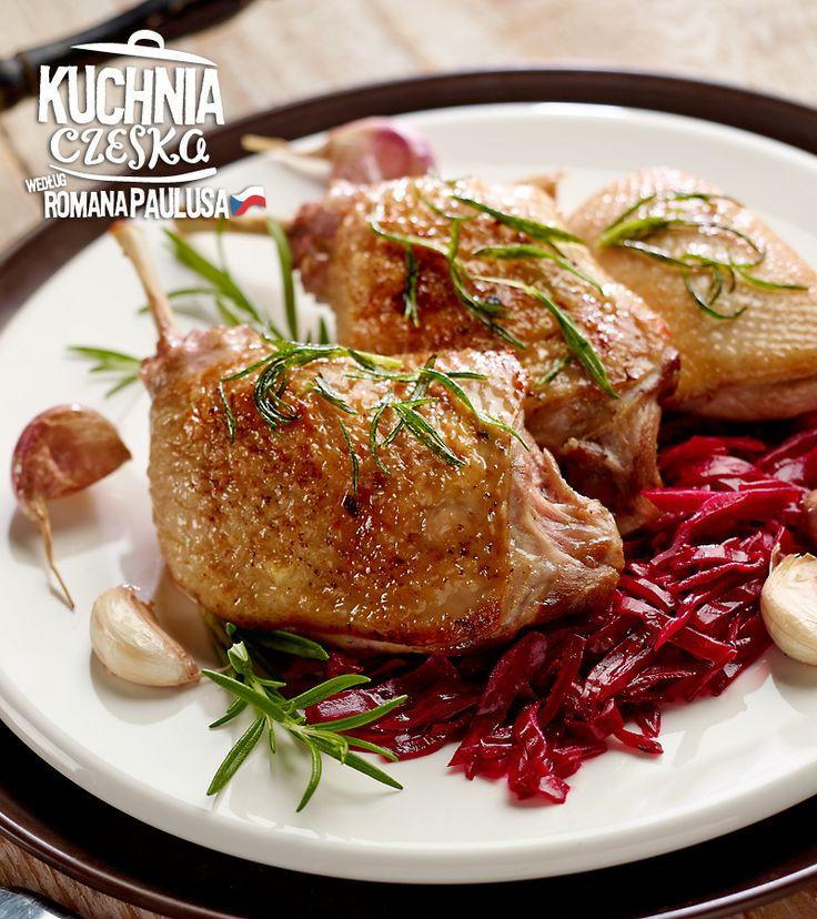 Konfitowana kaczka #lidl #przepis #kaczka #konfitury #czerwona #cebula #kuchniaczeska