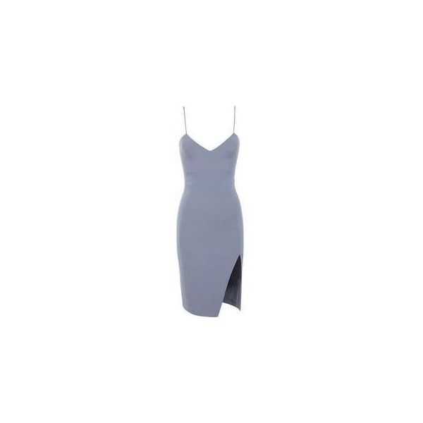 "ValenLSS en Twitter: ""House of CB Raqa Grey Asymmetric Cut Bralet... ❤ liked on Polyvore featuring dresses, short dresses, mini dress, grey dress, gray mini dress and short asymmetrical dress"