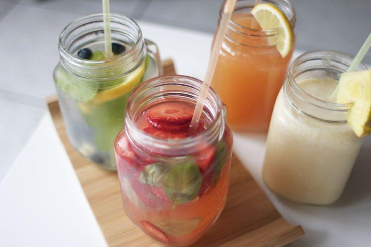 5 verfrissende zomerdrankjes