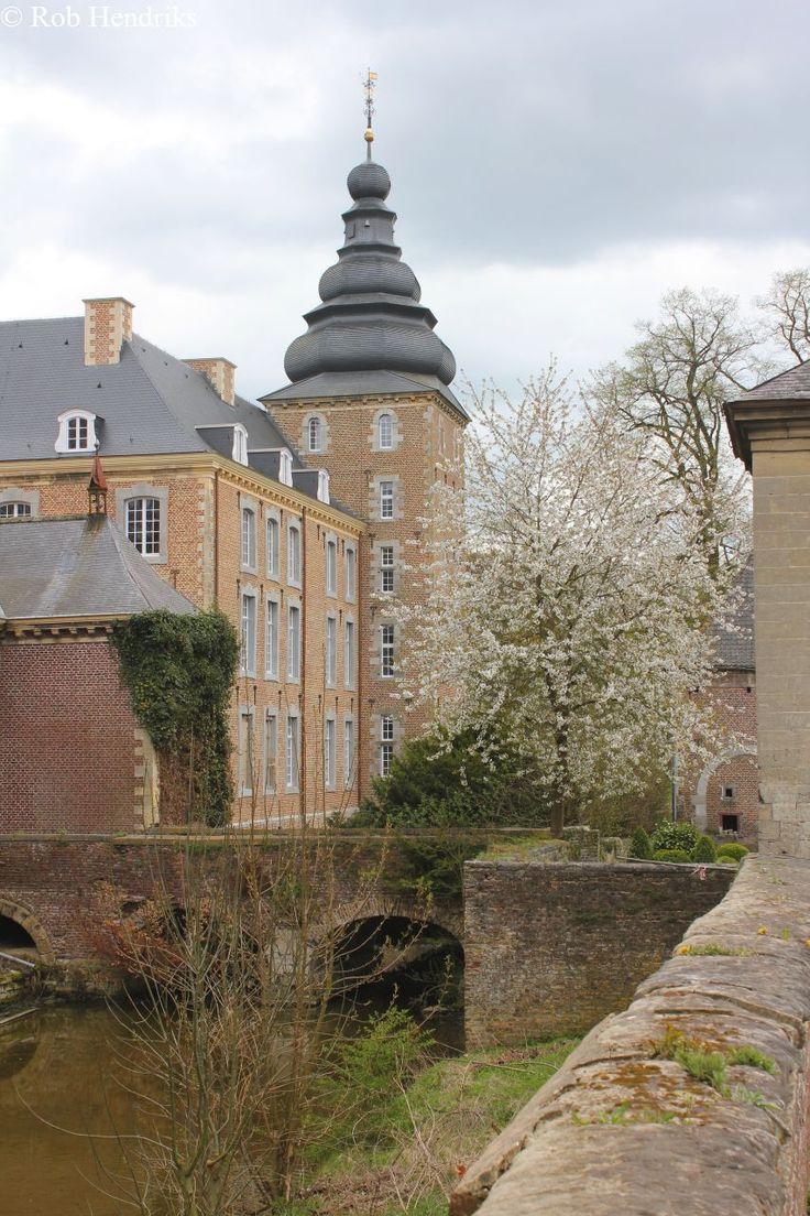 Kasteel Neubourg, Gulpen, Zuid-Limburg.
