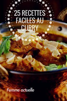 25 Recettes Au Curry Faciles Et Gourmandes Plats Pinterest