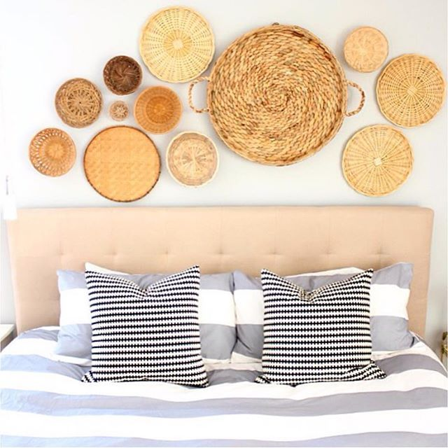 A different take on decorative wall art! {via @simplestylingsblog}