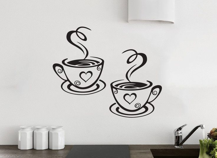 Best Wall Stickers Images On Pinterest Wall Vinyl Coffee - Best vinyl for cups