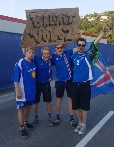 Brexit vol.2 czyli Islandczycy przed meczem z Anglią na Euro 2016 • Kibice Islandii przewidzieli wynik 1/8 finału • Wejdź i zobacz >> #england #iceland #football #soccer #sports #pilkanozna
