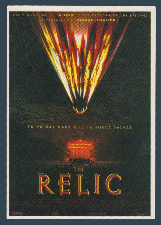 Postcards - Celebrities #  954 - The Relic with Penelope Ann Miller