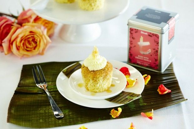 My #Coconut Ice with #Rose and #Vanilla #Syrup #cupcakes - #bronze medal at the 2013 Dilmah High Tea Challenge Finals in Brisbane