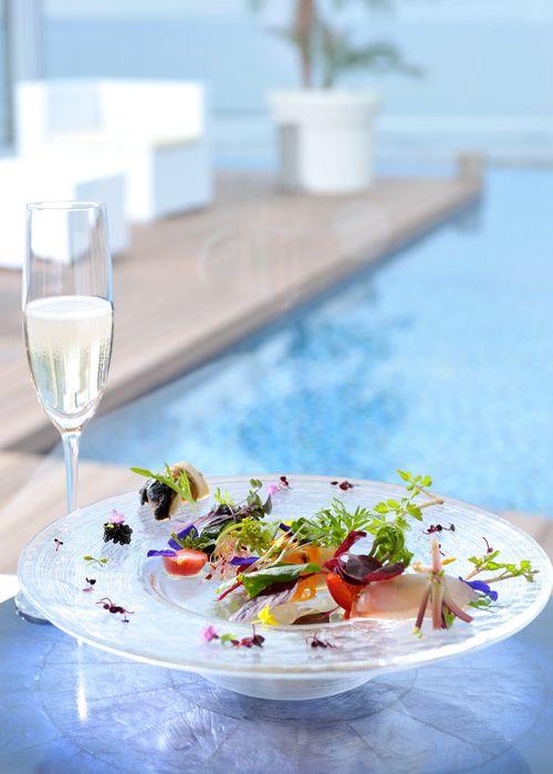#NOVARESE #wedding #sea #food #blue #AMANDANBLUE #ノバレーゼ #ウエディング #海  #ブルー #料理 #アマンダンブルー #鎌倉