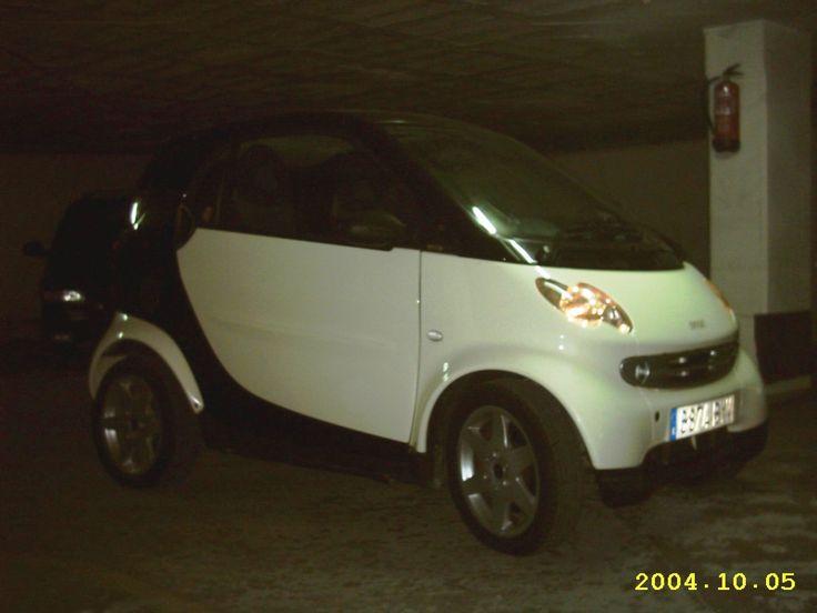 Smart City-Coupé Pulse 0.7 turbo 61 CV 2002. Esta version ya venía con los faros del modelo cabrio, los pilotos traseros ahumados y mayor autonomía, entre otras mejoras.