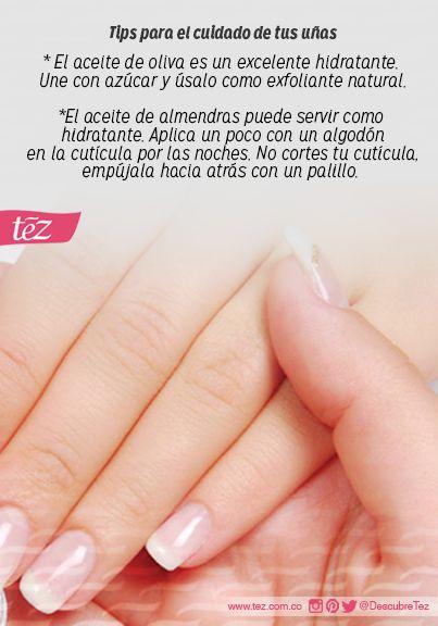 Tips para cuidar tus uñas!!!