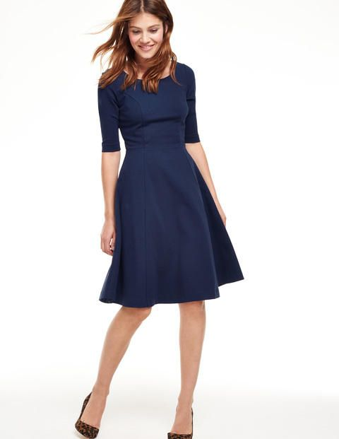 Alice Ponte Dress WH893 Smart Day Dresses at Boden