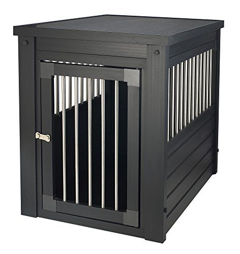 Medium Dog Crate with Stainless Steel Spindles, a Great Santuary for Your Medium Sized Dog * You can find more details by visiting the image link.