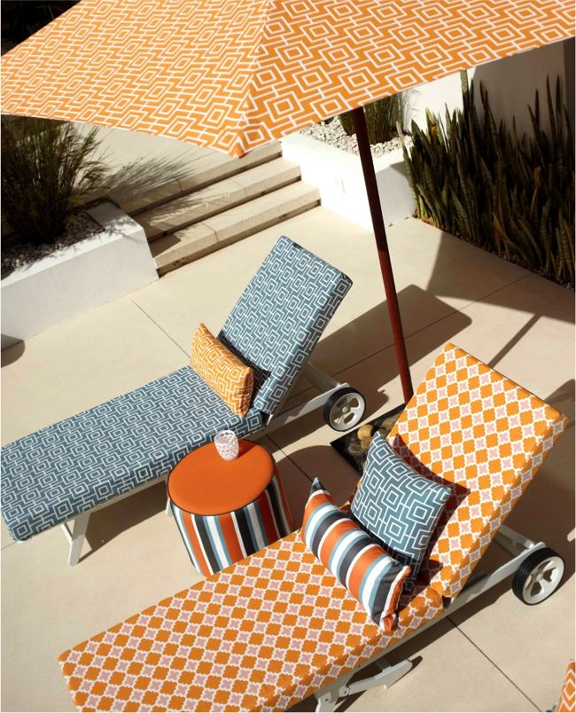 We Can Make Any Outdoor Furniture Fabric From Simple To Extravagant.  Www.springcrest.