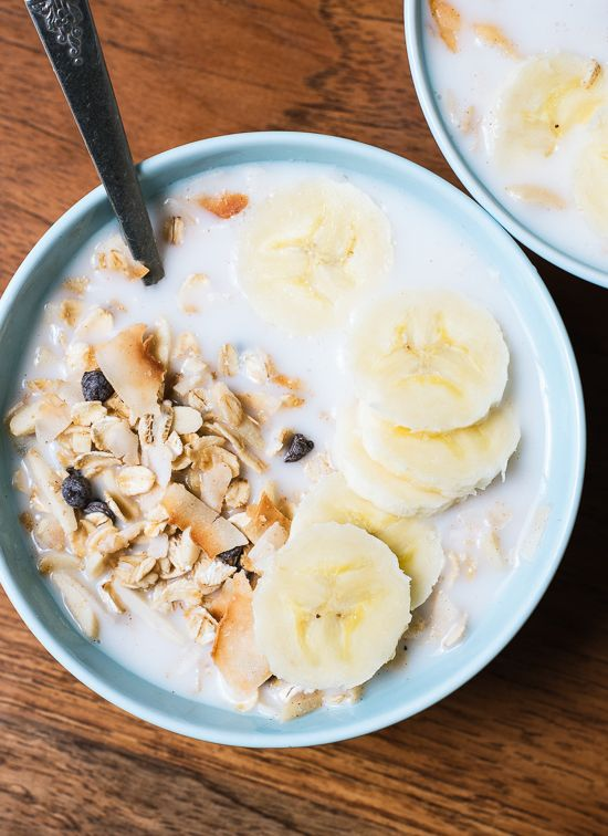 This healthy, hearty, homemade breakfast is so much better than store-bought cereal. Recipe by @cookieandkate, cookieandkate.com