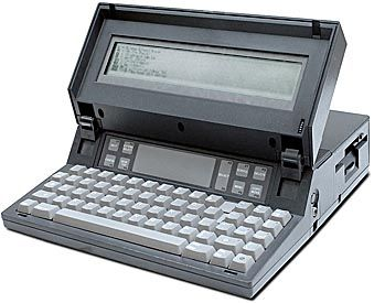 "Manny Fernandez had the idea for a well-designed laptop for executives who were starting to use computers. Fernandez, who started Gavilan Computer, promoted his machines as the first ""laptop"" computers in May 1983. Some historians consider the Gavilan as the first fully functional laptop computer."