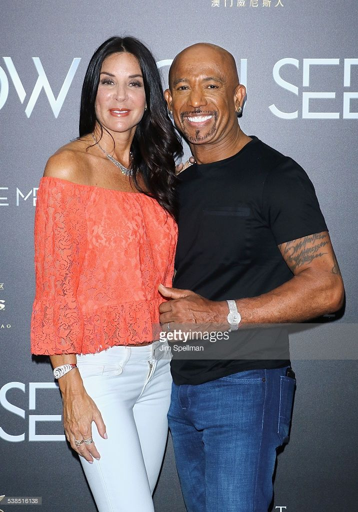 TV personality Montel Williams (R) and wife Tara Fowler attend the 'Now You See Me 2' world premiere at AMC Loews Lincoln Square 13 theater on June 6, 2016 in New York City.