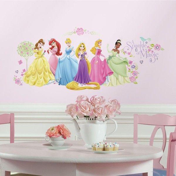 Disney Princess Glow Within Wall Stickers
