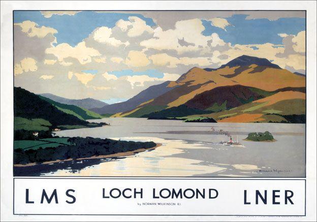 Image result for loch lomond modern art