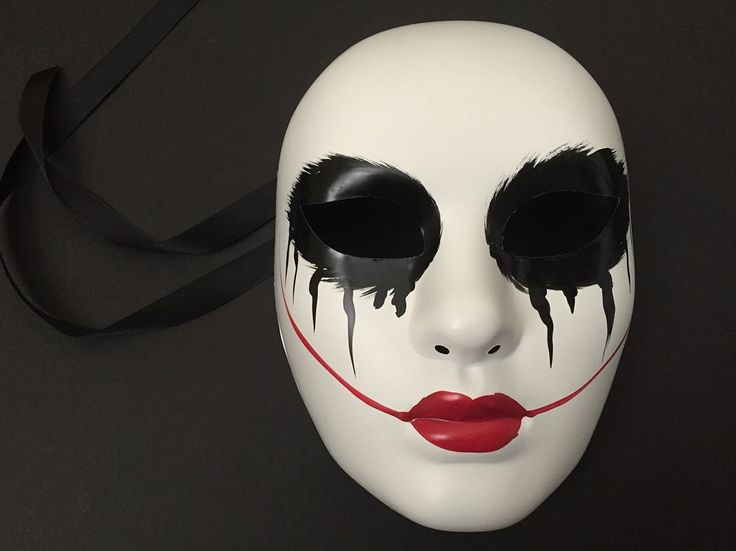 THE PURGE MOVIE ANARCHY HORROR mask themed red lips womens purge mask | masqstudio - Clothing on ArtFire