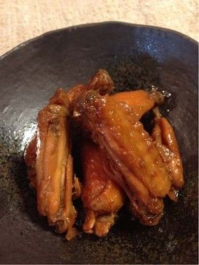 Boiled chili sour delicious ♪ chicken wings even cold 冷めてもおいしい♪鶏手羽中の甘辛すっぱ煮
