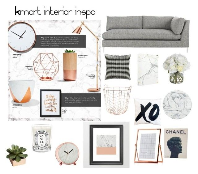 """Untitled #164"" by annalise-lovelle ❤ kmart interior inspo"